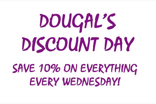 Discount Wednesdays!