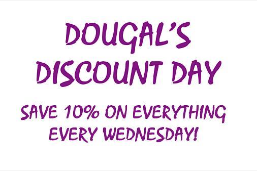 Discount Wednesdays!